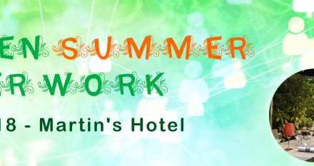 Green Summer After Work – 30 Augustus 2018 –18u30 @ Martin's Brussels EU